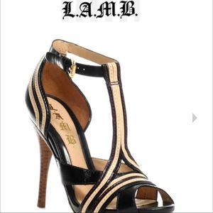 L.A.M.B. Tailynn Heels EUC